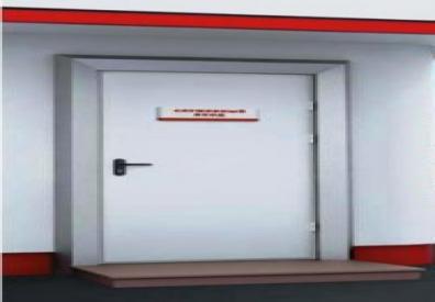 Дверь металлическая  EI-60